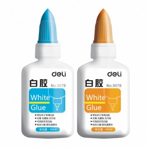 Лепило Deli White Glue течно, 40 мл.